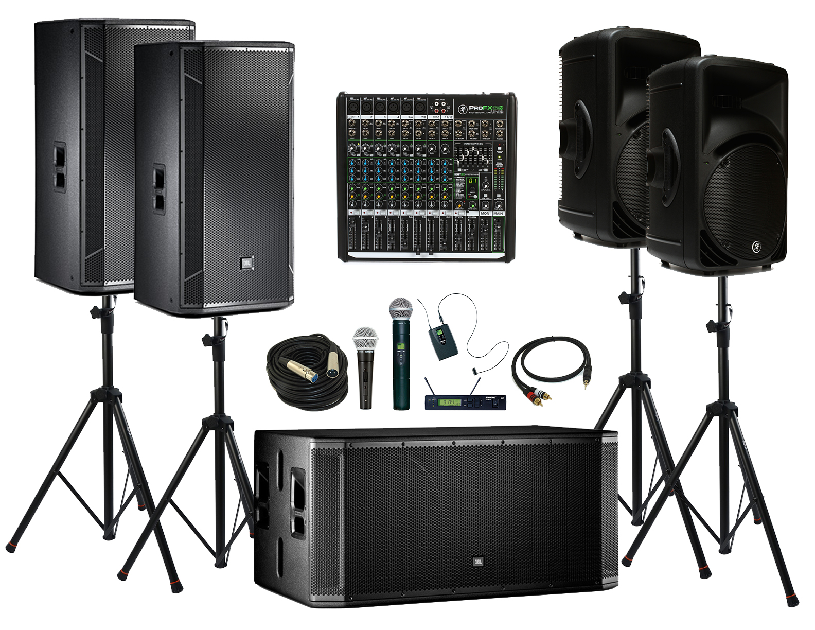 Large Event Concert Sound System Rental In Kansas City